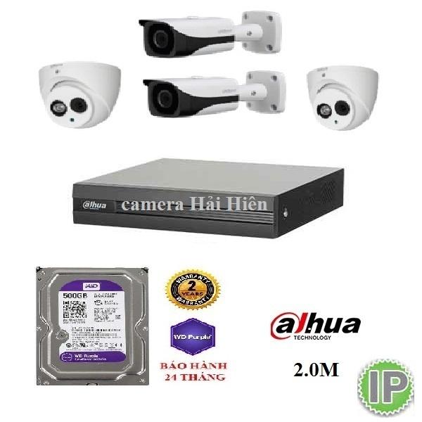 4 mắt camera IP dahua